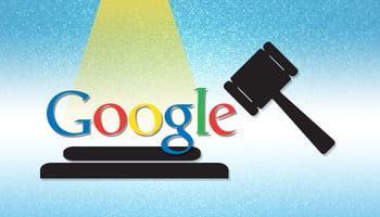 Google in court