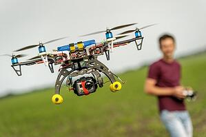 drone on