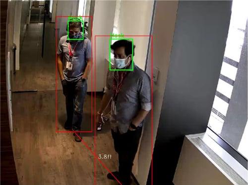 Новые решения Honeywell - контроль масок и социальной дистанции