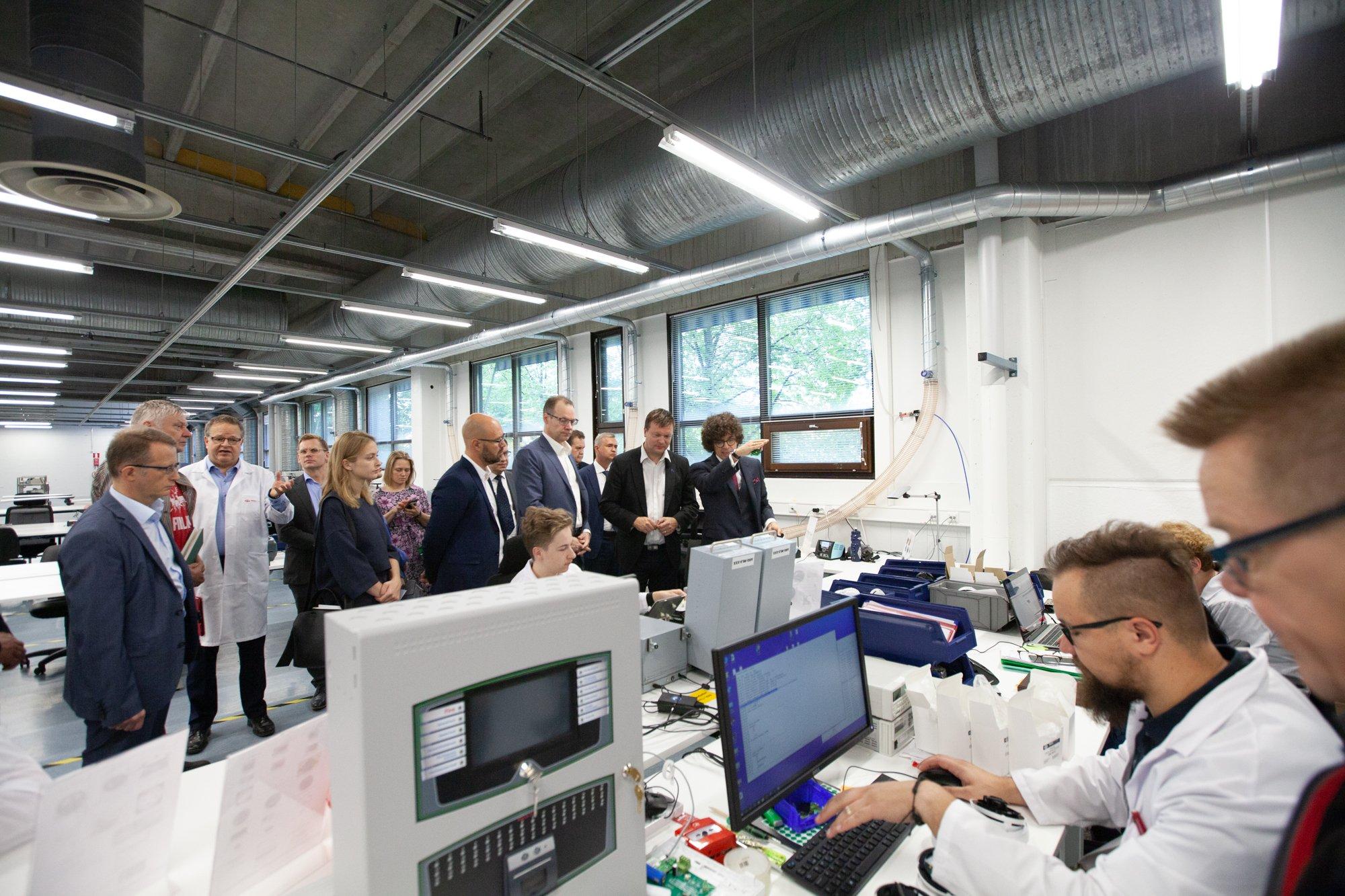 Аргус-спектр, завод в Финляндии