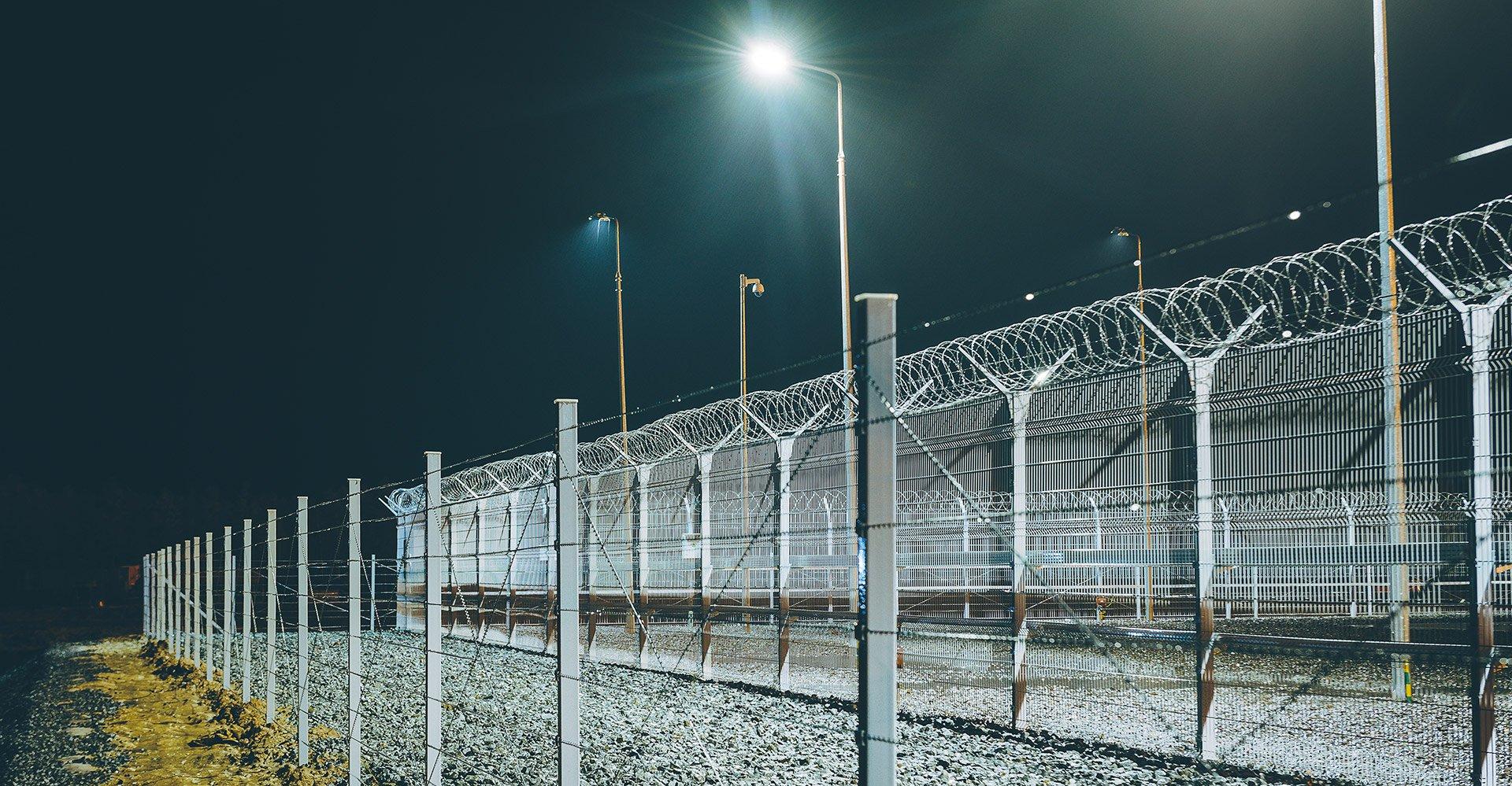 fence-light
