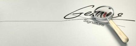 sign check