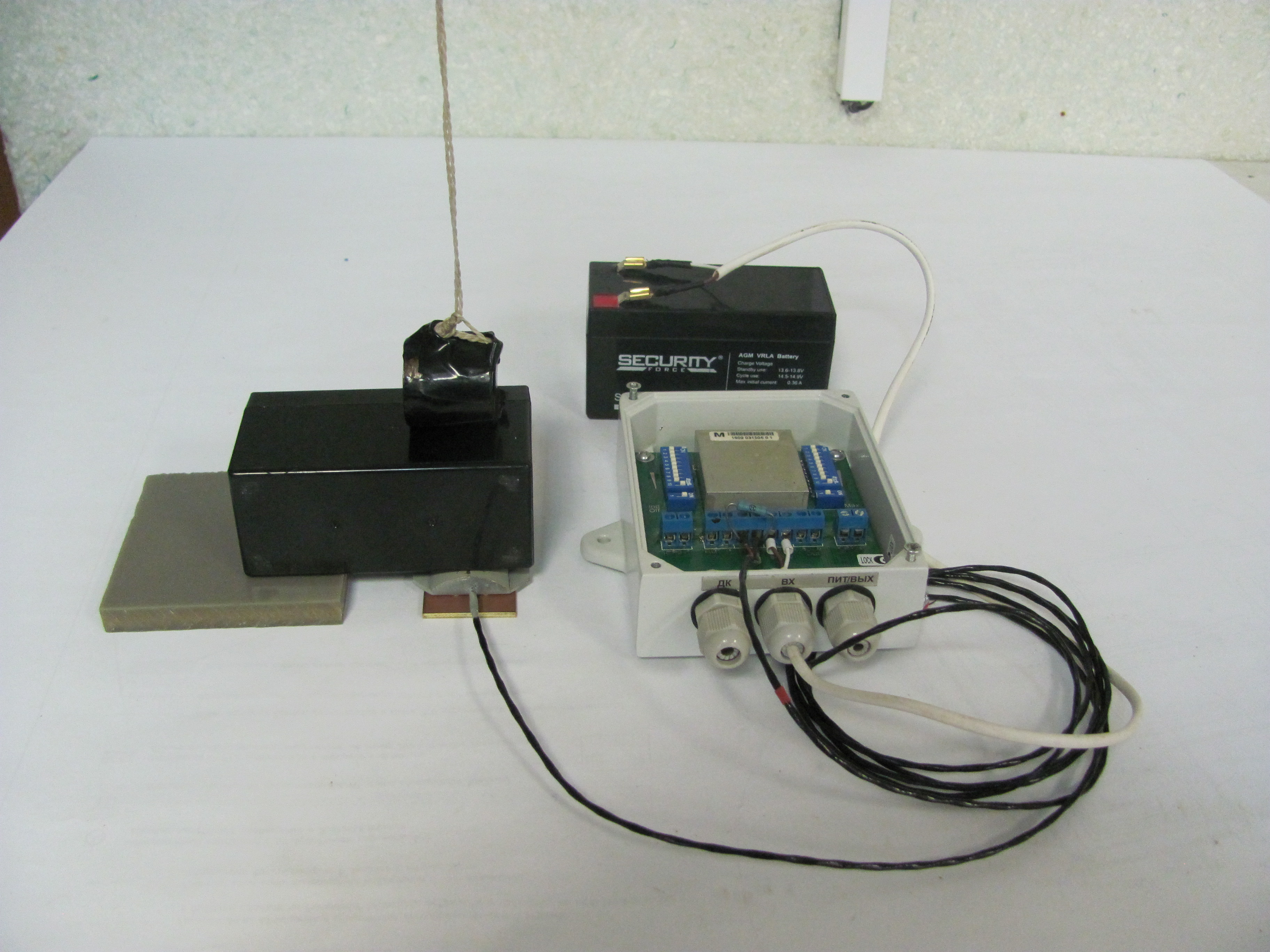 НПП «СКИЗЭЛ» предлагает «Сенсор-пломбу» — уникальную возможность применения охранного извещателя на стыке задач охраны и технологического контроля