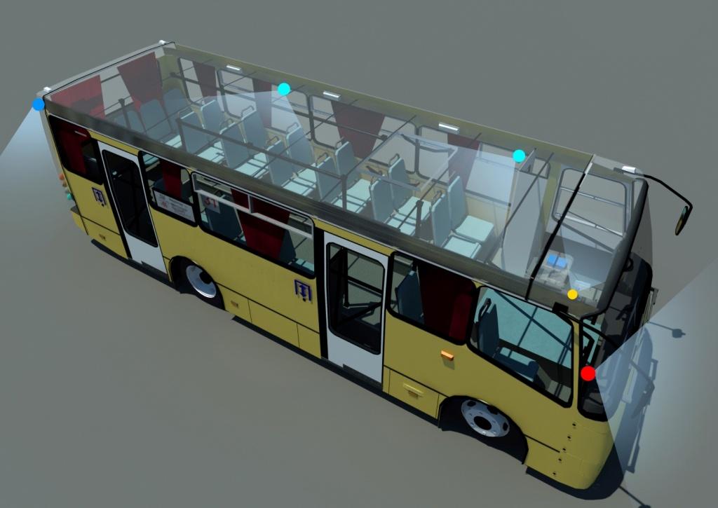 Модули видеоаналитики для транспорта
