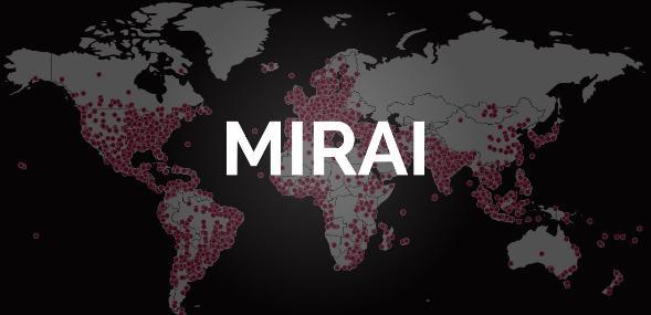Ботнет Mirai теперь атакует