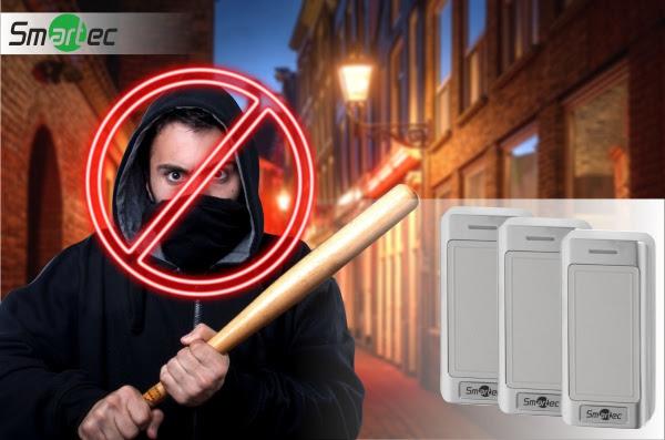 Считыватели SmartecST-PR042xxx с защитой от вандалов и непогоды