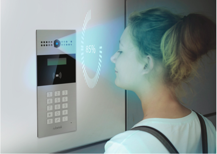 Rubetek запустил систему распознавания лиц на своих домофонах