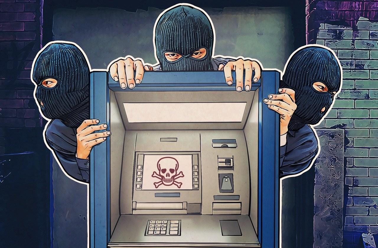 Преступники похитили более 23 млн рублей из банкоматов по всей России