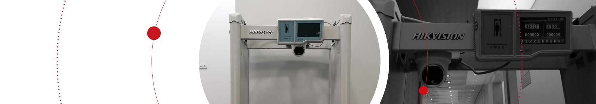 Компания Hikvision установила рамки металлодетектора со встроенным тепловизором в бизнес-центре «Кругозор»