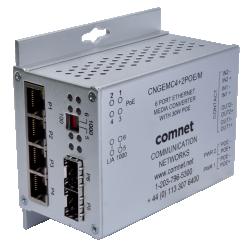 В линейке оборудования ComNet появились оптические медиаконвертеры с поддержкойPoE++