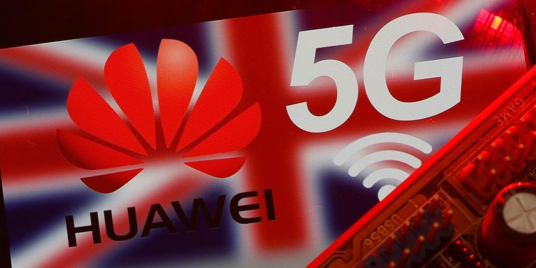 Великобритания может отказаться от технологии 5G компании Huawei