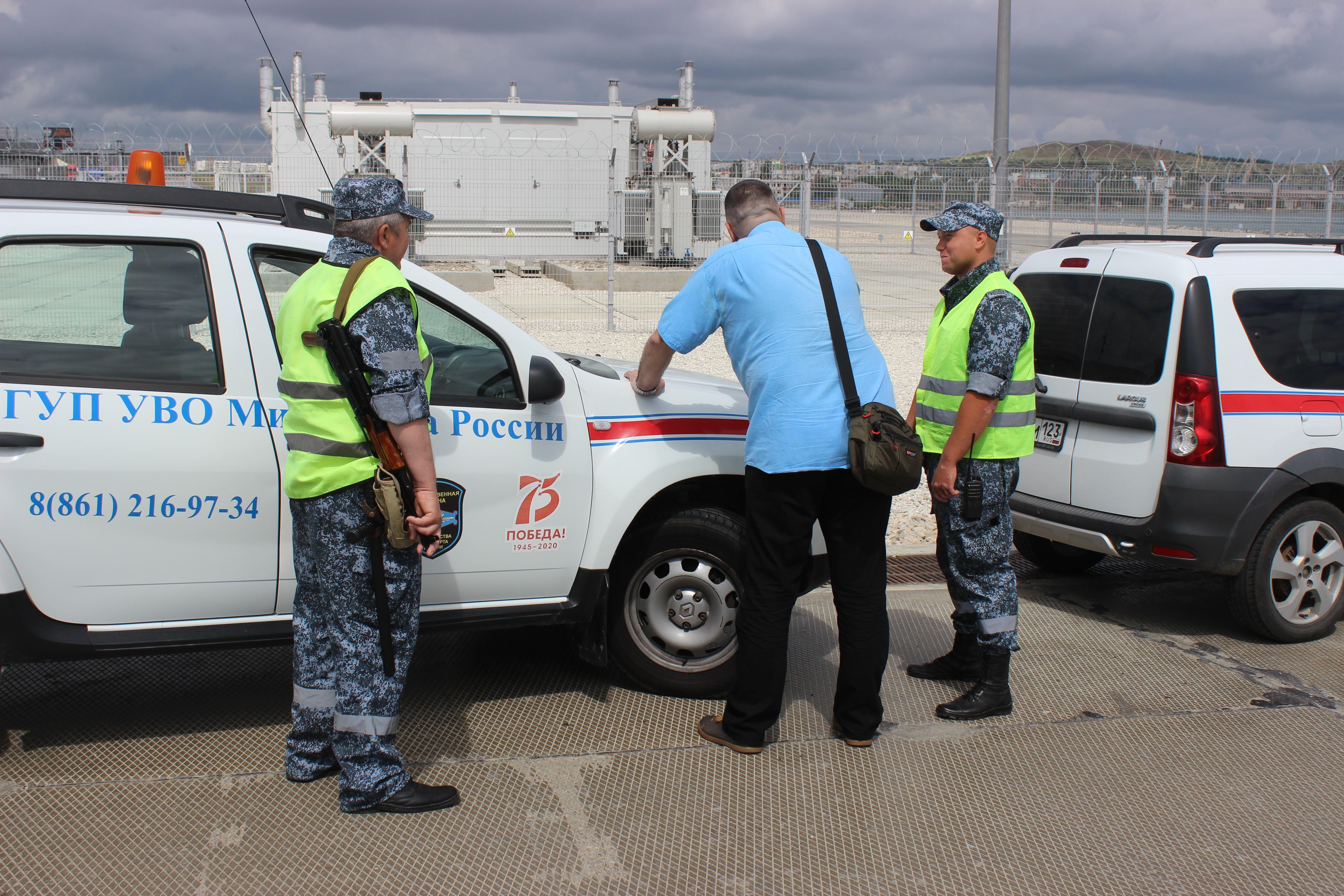 С начала года на Юге России охраной Минтранса проведено свыше 2 млн досмотров