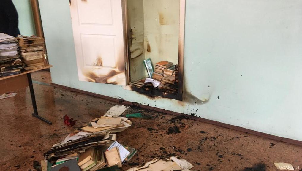 #СтрелецСпас: в Нижнекамске ликвидирован пожар в агропромышленном колледже