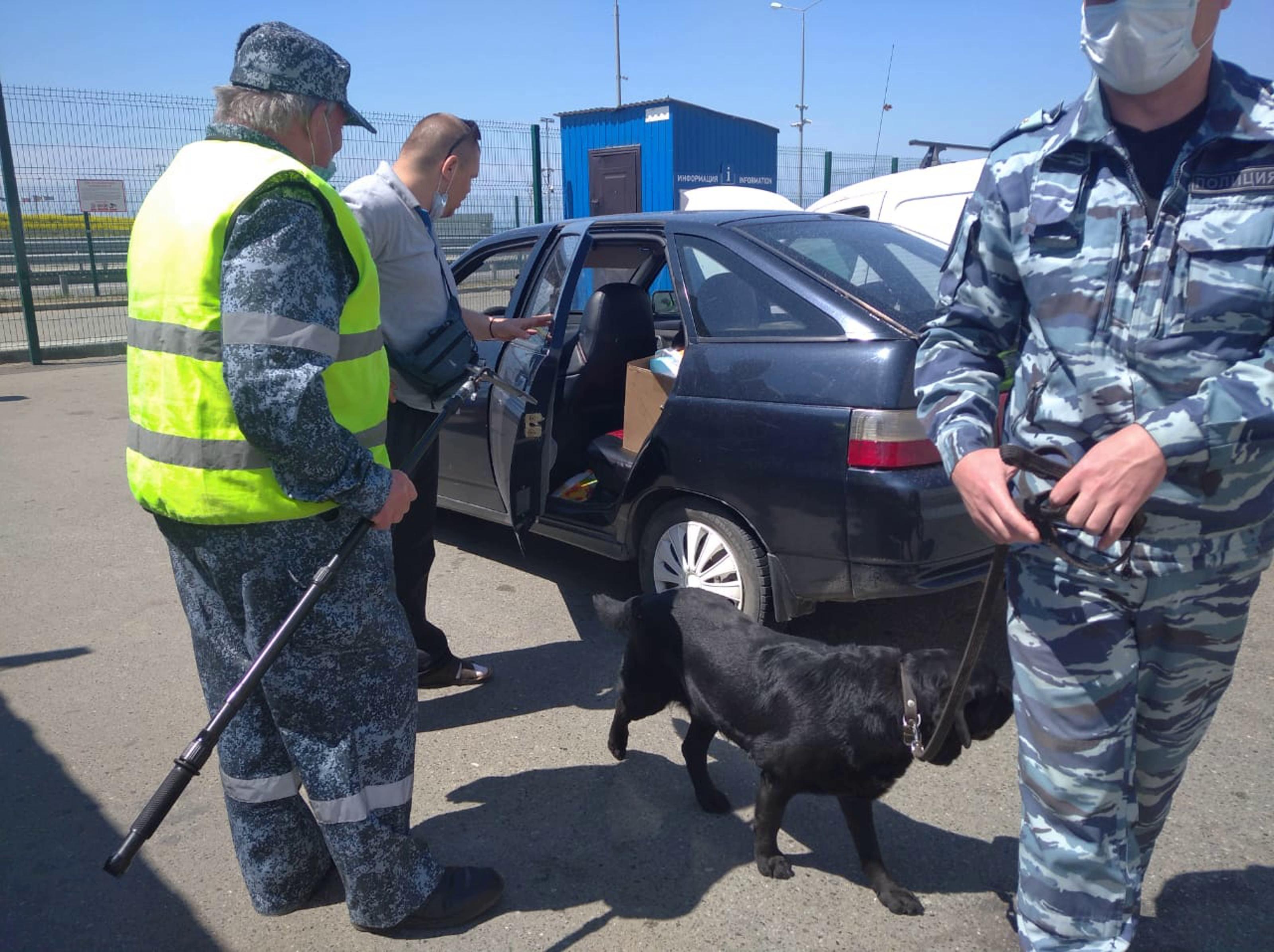 На Юге России охрана Минтранса участвует в операции