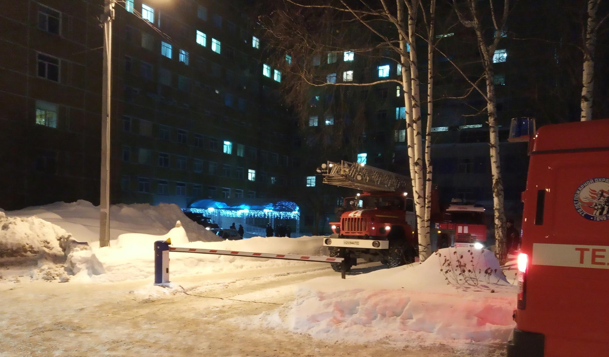#СтрелецСпас: при пожаре в пермской больнице были успешно эвакуированы 420 человек