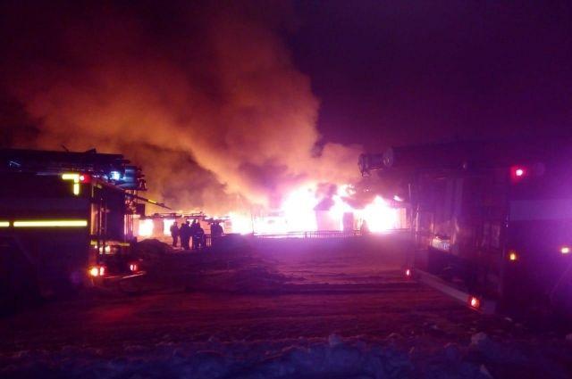 #СтрелецСпас: в Новосибирской области был потушен пожар в здании начальной школы