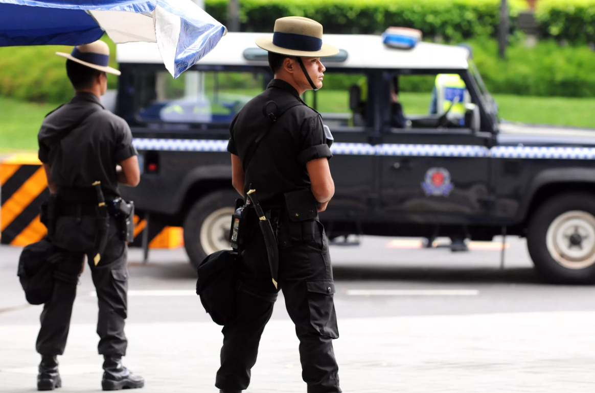 Биометрическая идентификация водителей на дорогах Сингапура