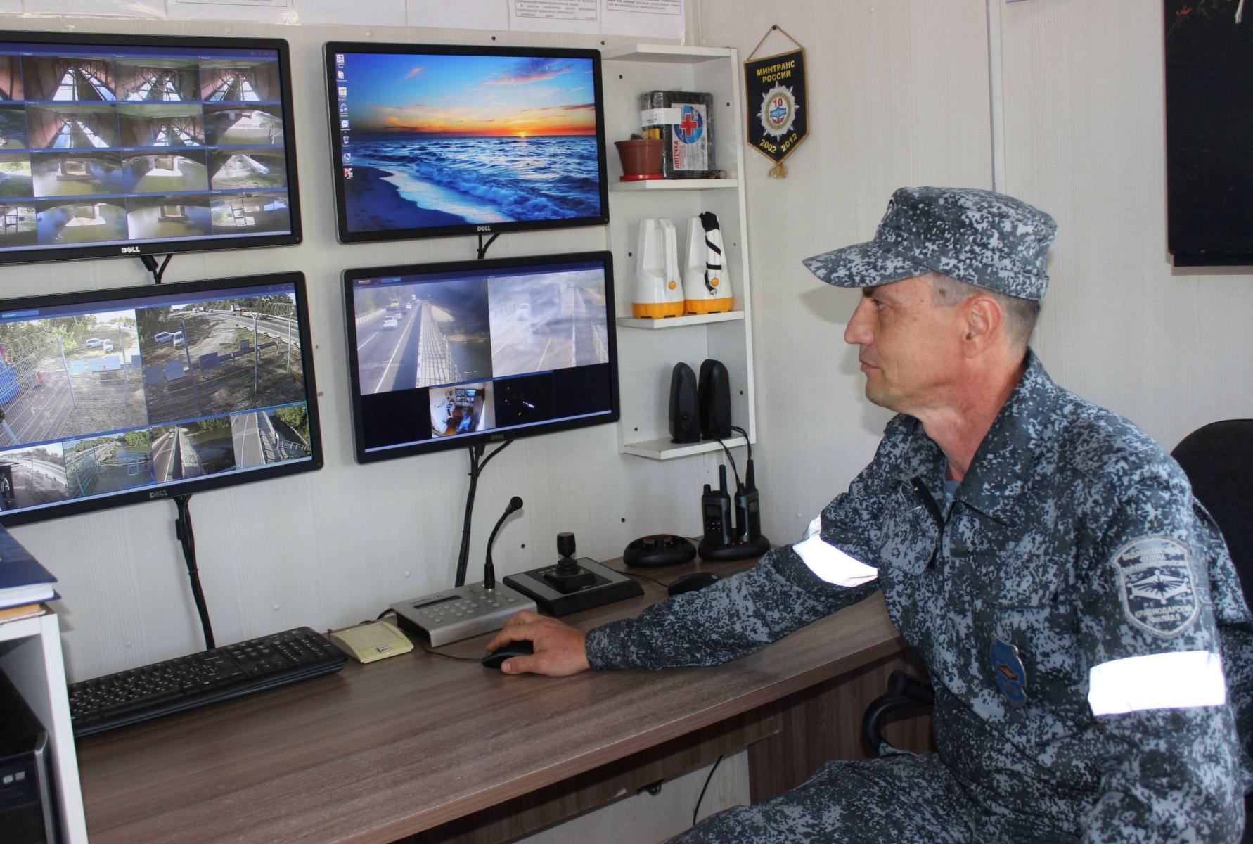 На охраняемомУВО Минтранса объекте проведены учения с силовыми структурамиКубани