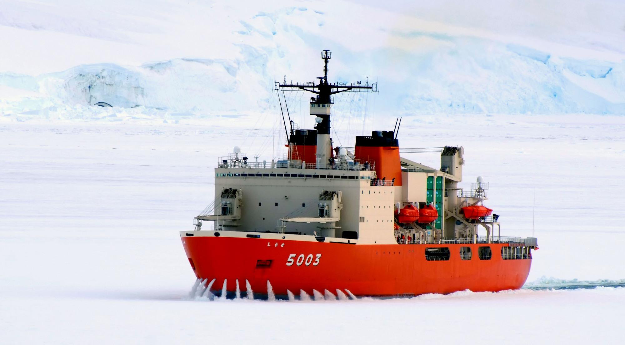 Япония создаст систему для безопасной навигации в Северном Ледовитом океане