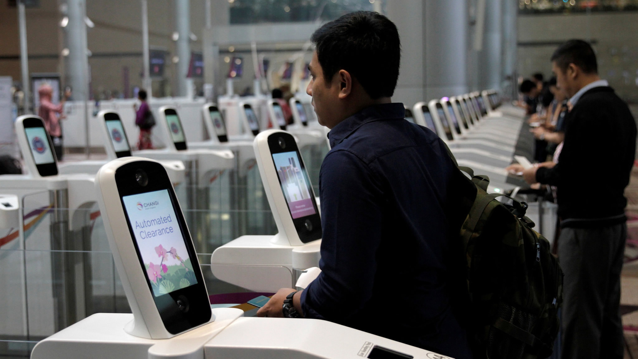 9 человек арестованы в Таиланде с помощью биометрической системы