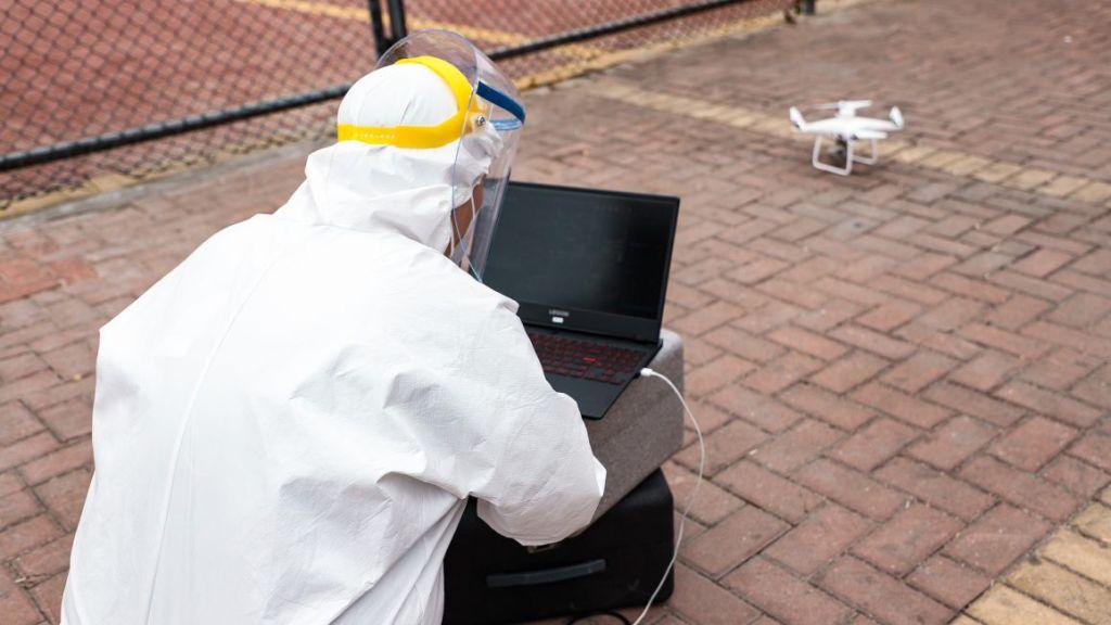В Великобритании задействуют дроны для доставки тестов и средств защиты