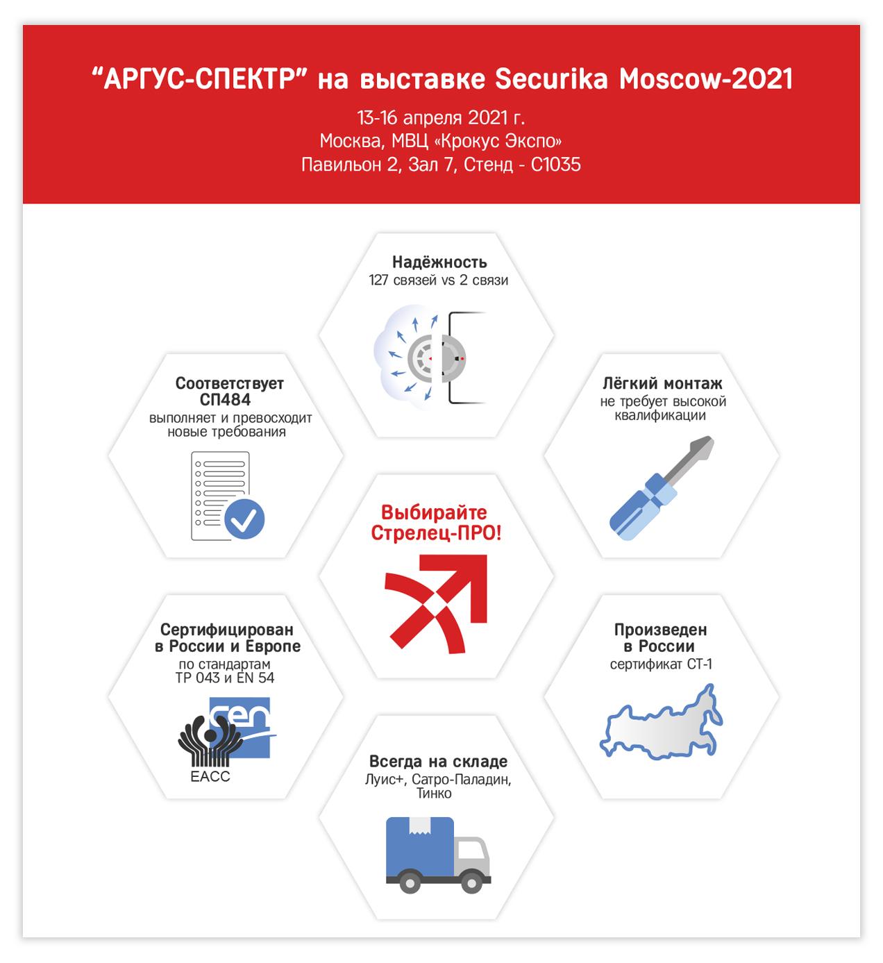 МИПС-2021: СТРЕЛЕЦ-ПРО соответствует СП 484 и сертифицирован по ТР 043