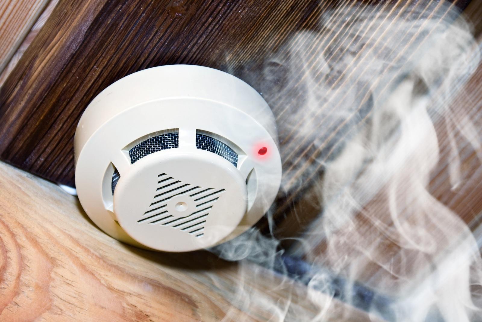 Неадресные дымовые пожарные извещатели