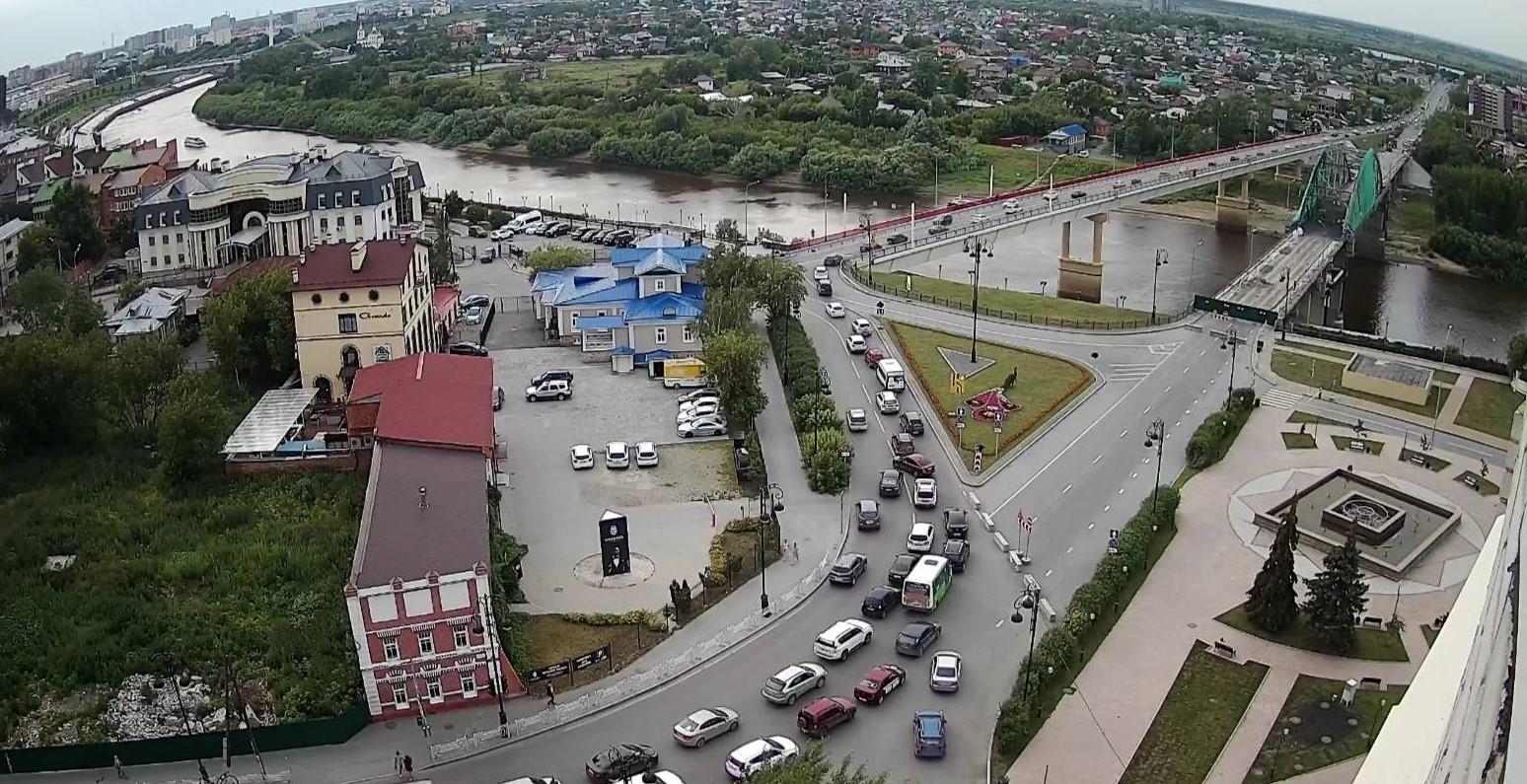 Тюмень: 11 млн рублей потратят на видеонаблюдение в городе