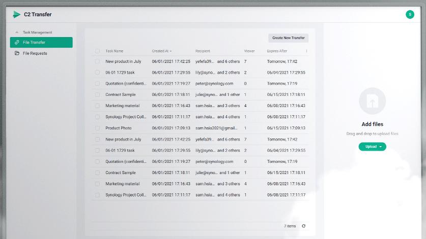 C2 Transfer – безопасная передача файлов для компаний и групп