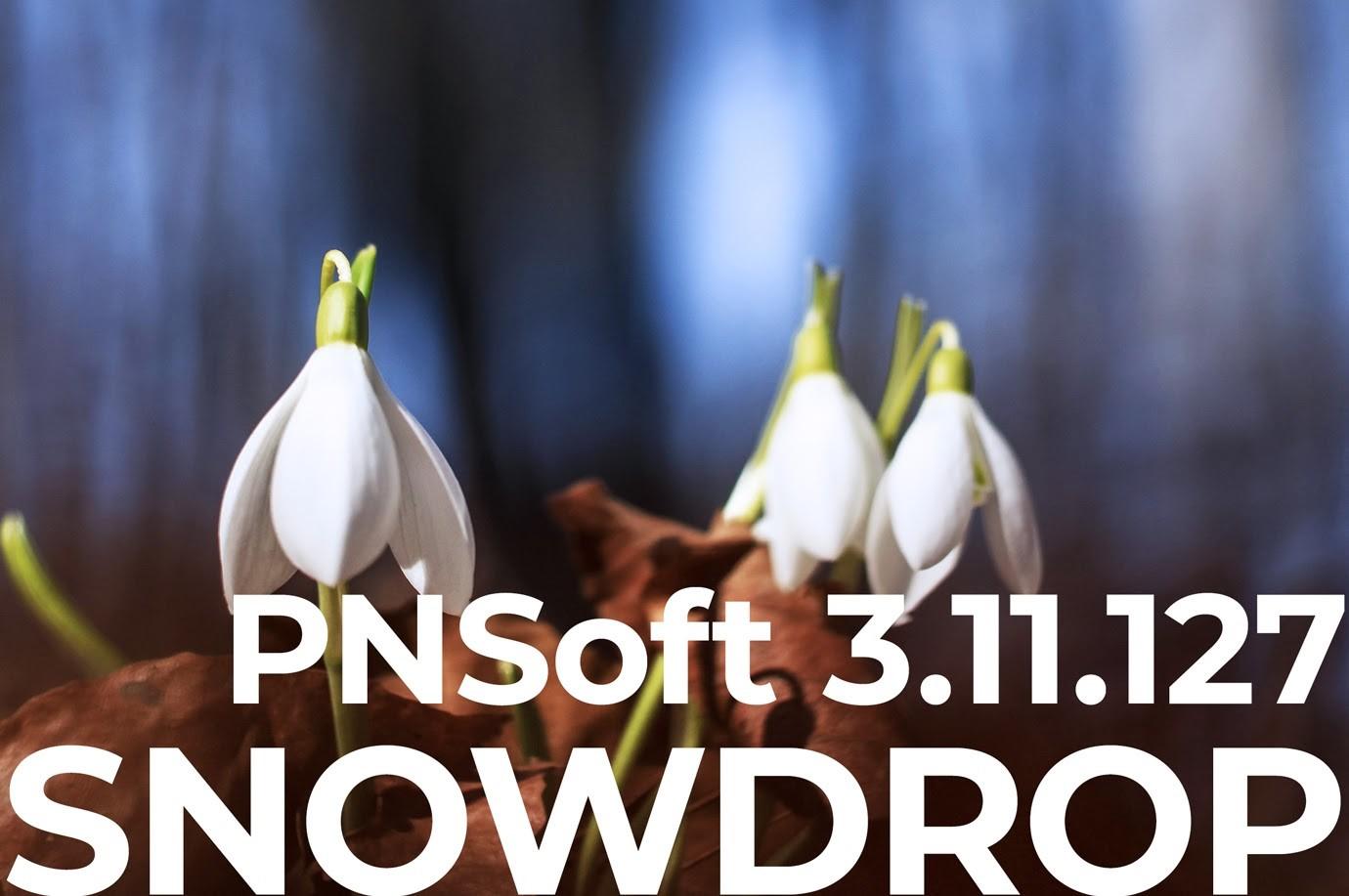 Выпущен новый релиз ПО для СКУД ParsecNET – PNSoft 3.11.127 Snowdrop