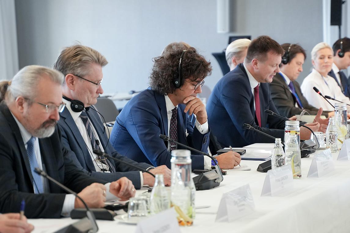 Михаил Левчук принял участие в Межправительственной Российско-Финляндской комиссии по экономическому сотрудничеству