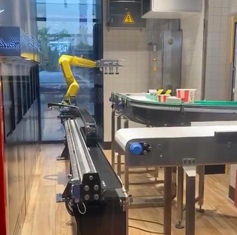 Роборука и биометрия: ресторан будущего