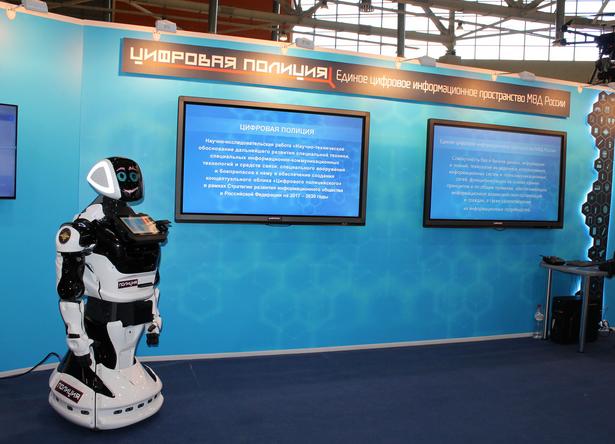 Роботы-полицейские могут появиться на службе МВД России