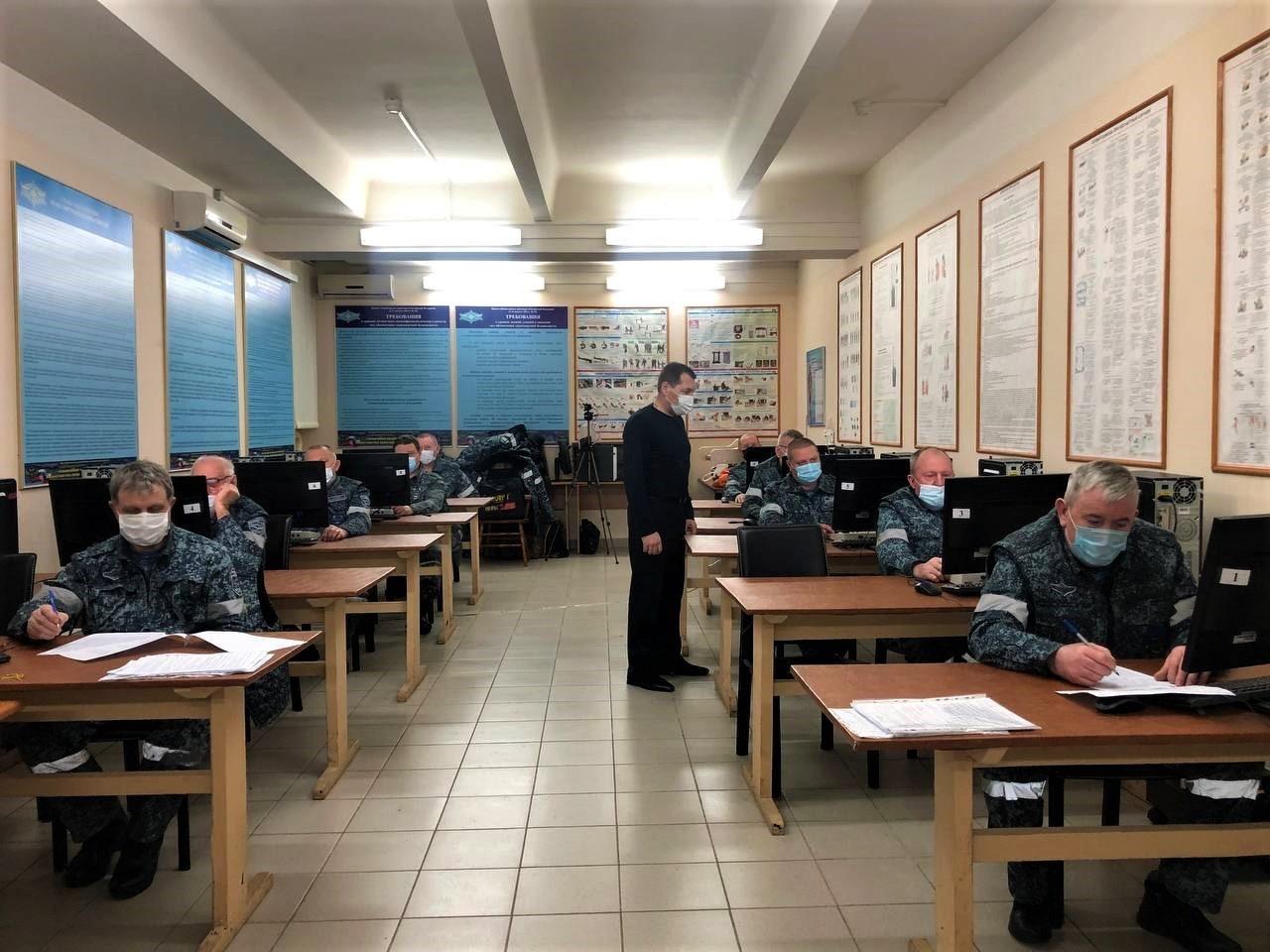 Работники ведомственной охраны прошли аттестацию сил обеспечения транспортной безопасности