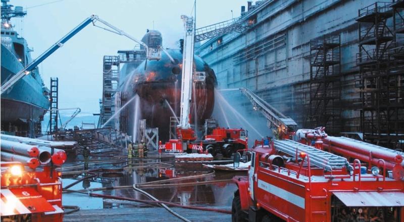 Специальная пожарная охрана отмечает 74-летие со дня создания