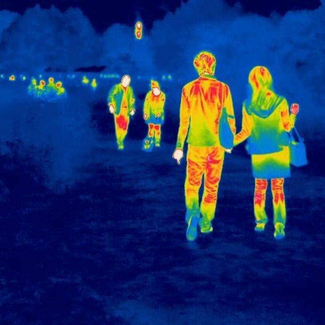 Сотрудникам предприятия во Владимире измеряют температуру тепловизором