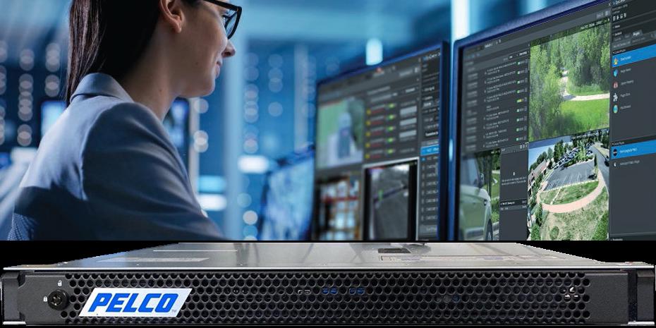 Новый сетевой видеорегистратор NVR ECO 3 марки Pelco с ПО VideoXpert Professional