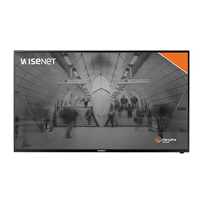 Новый профессиональный 4K LED монитор Wisenet SMT-4343 для видеонаблюдения
