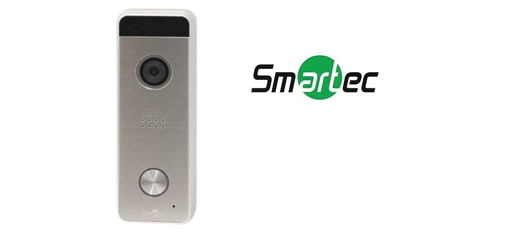 Новинка Smartec – уличная вызывная панель на 4 абонента с реле управления замком