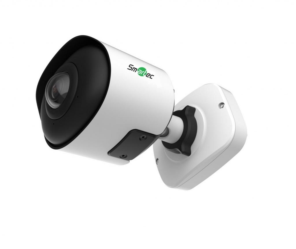 Новинка Smartec: панорамная IP-камера с оптикой «рыбий глаз», разрешением 4К и защитой по классам IP67/IK10