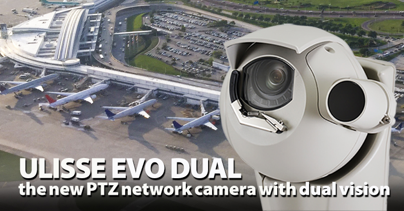 Новые уличные PTZ-камеры Videotec Ulisse Evo Dual c 30x оптикой и тепловизионным модулем