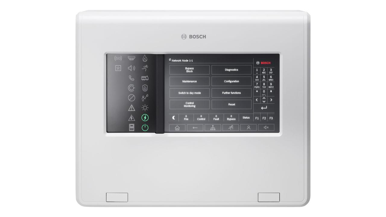 Bosch AVENAR 8000 – новый приемно-контрольный прибор адресный с поддержкой речевого оповещения