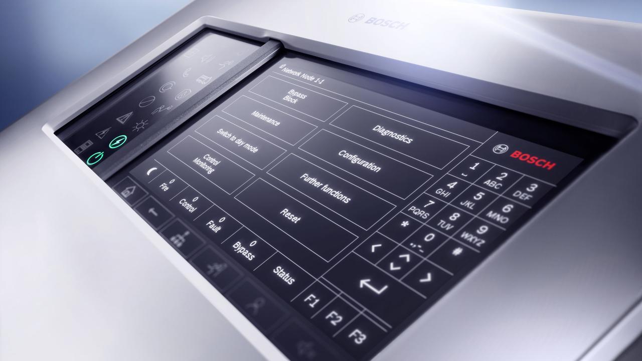 Bosch выпустила компактный модульный прибор пожарной сигнализации AVENAR 2000
