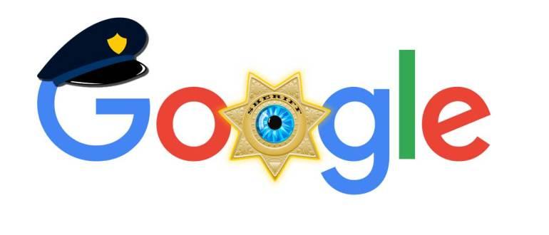 Google предоставляет полиции данные овсех пользователях, искавших определенную информацию в интернете