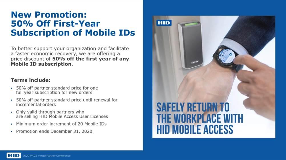 HID Global объявил об акции на приобретение мобильных лицензий до конца 2020 года