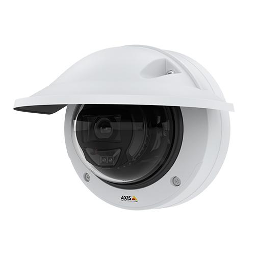 Новая уличная купольная IP-камера AXIS P3255-LVE с искусственным интеллектом