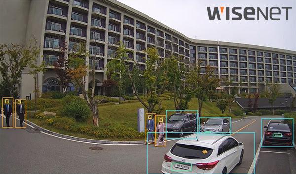 Новые доступные AI камеры от WISENET с искусственным интеллектом