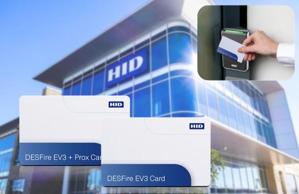 Непревзойденная степень защиты данных с картами HID Global DESFire EV3