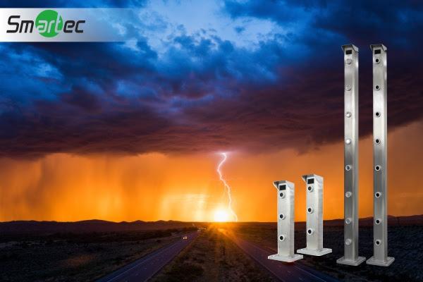 Активные лазерные барьеры Smartec для защиты периметра