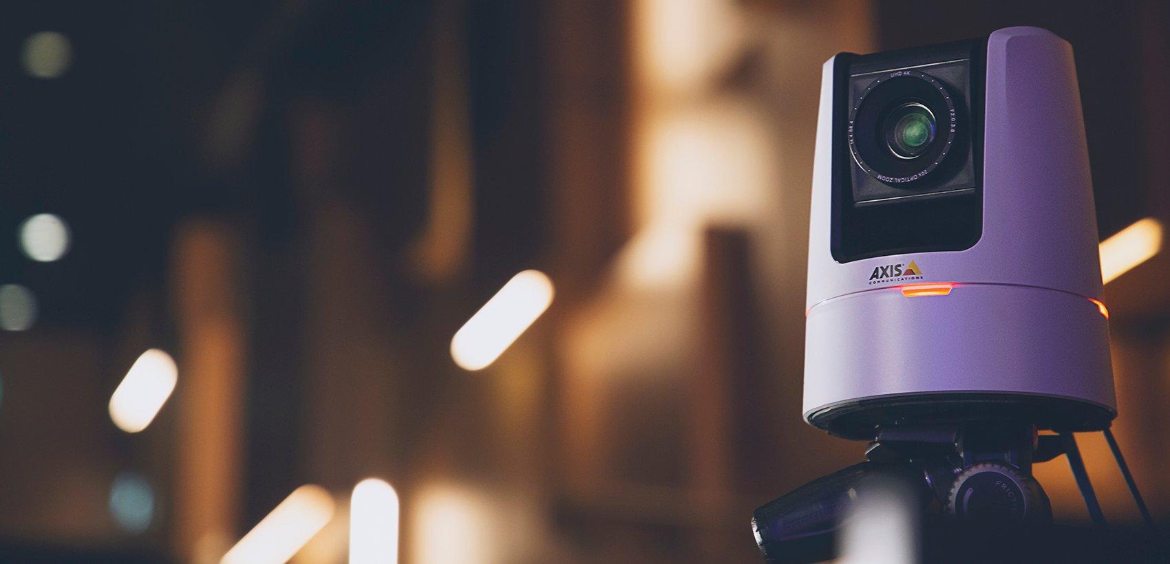Axis Communications представляет камеру AXIS V5938 для профессиональных веб-трансляций